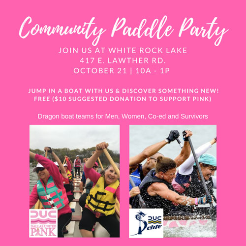 2017 paddle party